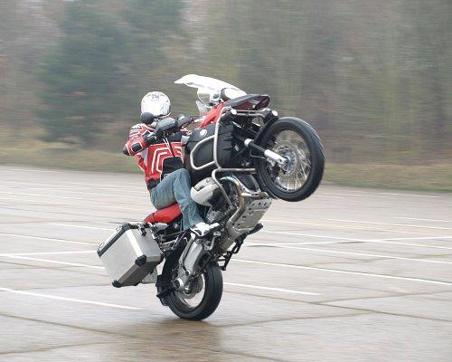 Wheelie Bmw Gs